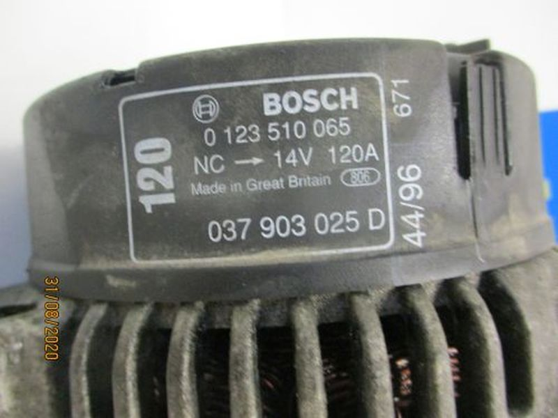 Lichtmaschine 037 903 025 DVW GOLF IV (1J1) 1.6
