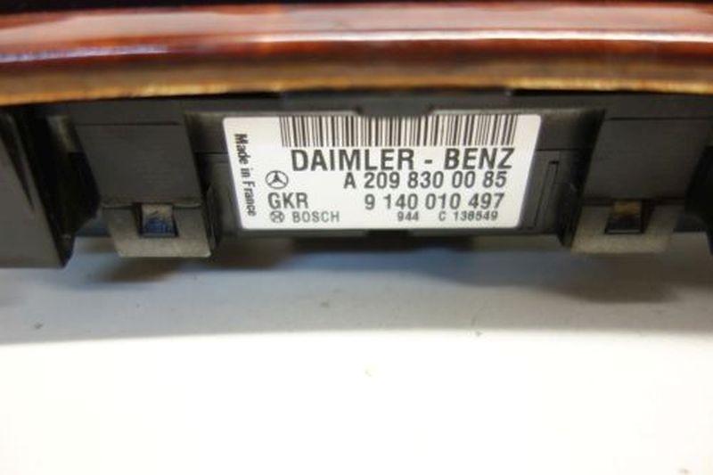 Bedienelement, Klimaanlage Abdeckung SchalterMERCEDES-BENZ C-KLASSE (W203) C 180 KOMPRESSOR
