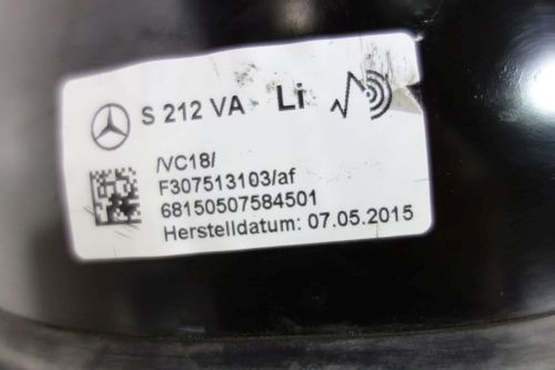 Federbein links vorn LuftfahrwerkMERCEDES-BENZ E-KLASSE T-MODEL (S212) E 250 CDI