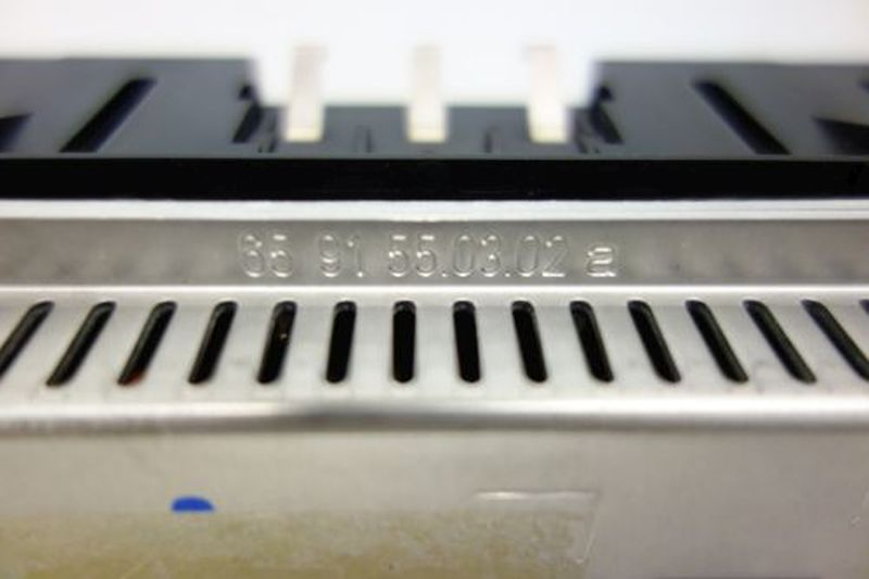 Bordcomputer Display OPEL OMEGA B CARAVAN (21_, 22_, 23_) 2.5 DTI